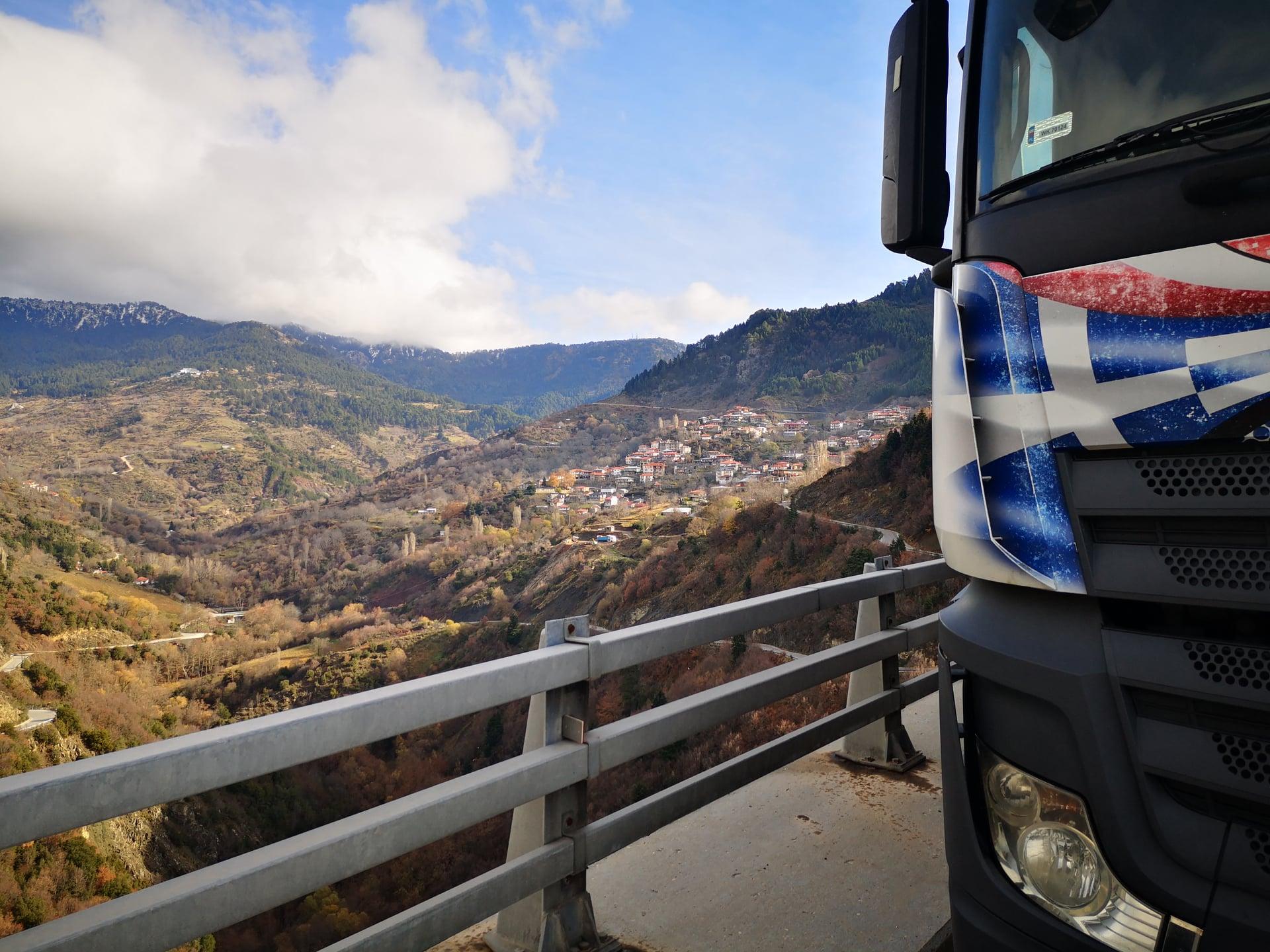 transport z Grecji do Polski