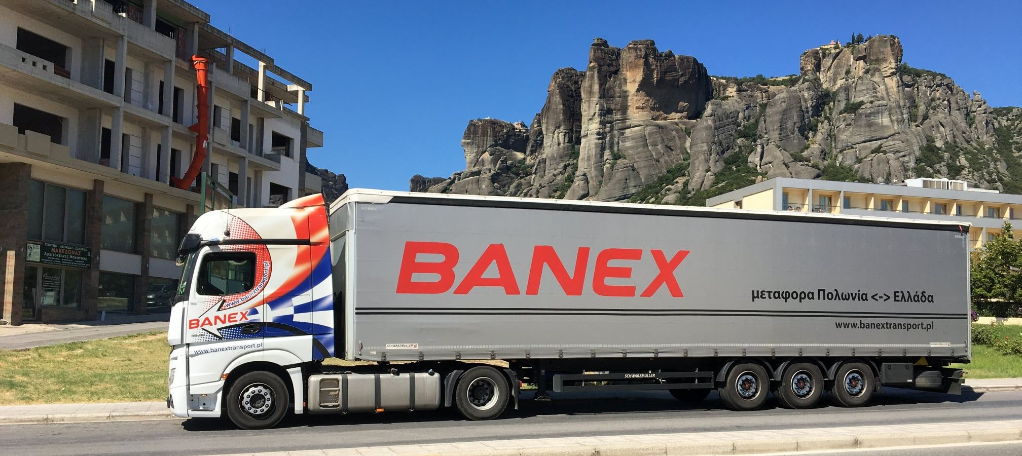 transport z Grecji