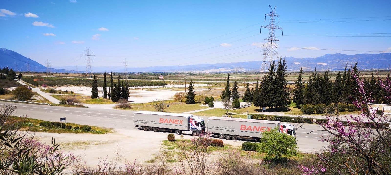 Transport produktów spożywczych